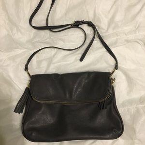 Dark Gray Crossbody Bag